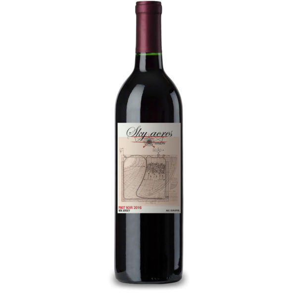 Sky Acres Winery Pinot Noir 2016